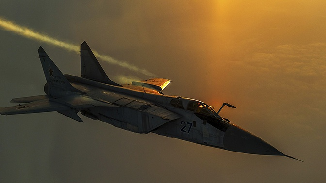 Российский истребитель МиГ-31 перехватил самолет Норвегии над Баренцевым морем