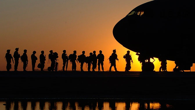 Трамп заявил о выводе части американских войск из Афганистана