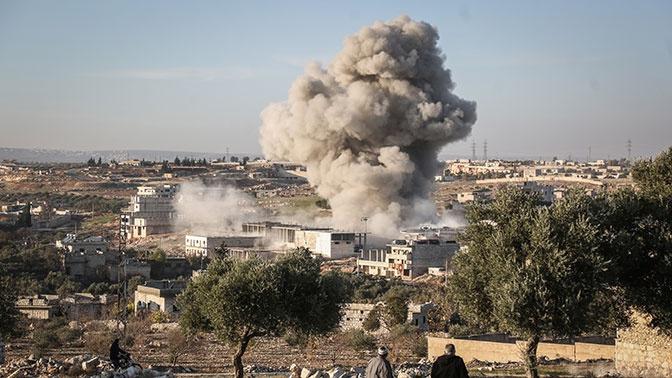 Населенные пункты в провинциях Идлиб и Алеппо подверглись обстрелам со стороны террористов