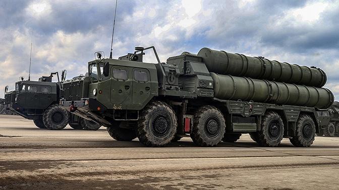 Очередной полк ЗРС С-400 передан Министерству обороны России