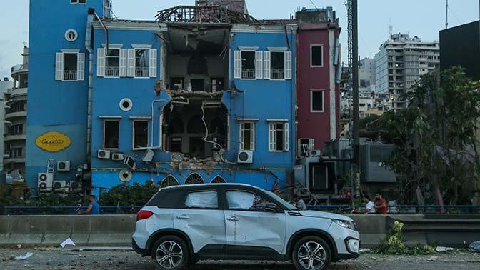 Почти 300 тысяч человек остались без жилья из-за взрыва в Бейруте