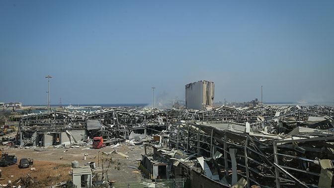 Власти Ливана опровергли версию о причастности Израиля к взрыву в Бейруте