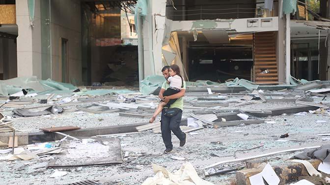 Число жертв взрыва в Бейруте увеличилось до 100 человек