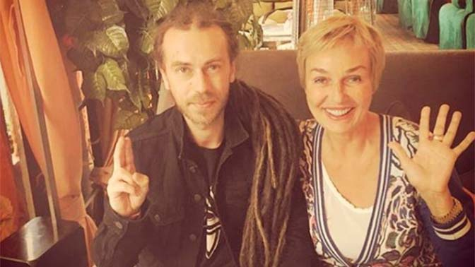 «Кирилл, я очень скучаю»: актриса Андрейченко опубликовала ранее неизвестное фото с Децлом