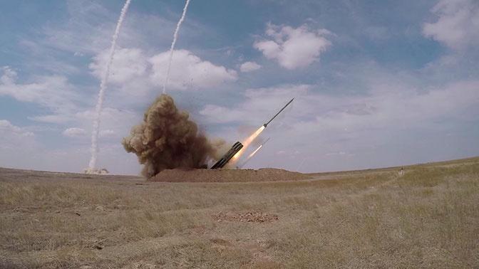 «Искандер-М» наносит сокрушительный удар по «врагу» под Астраханью: эффектные кадры учений