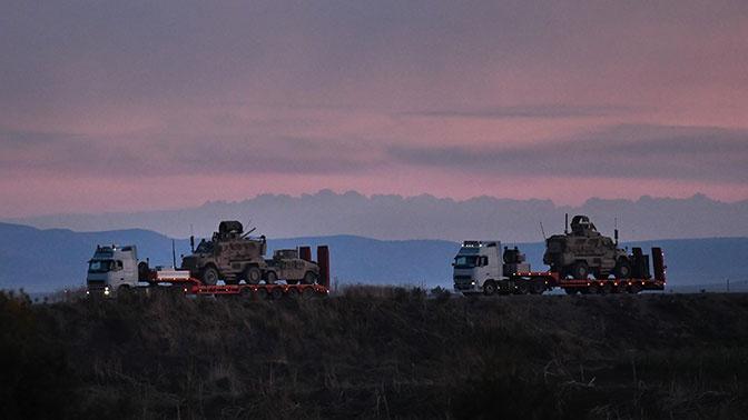 ЦПВС: незаконное присутствие военного контингента США в сирийском Заевфратье препятствует восстановлению мирной жизни