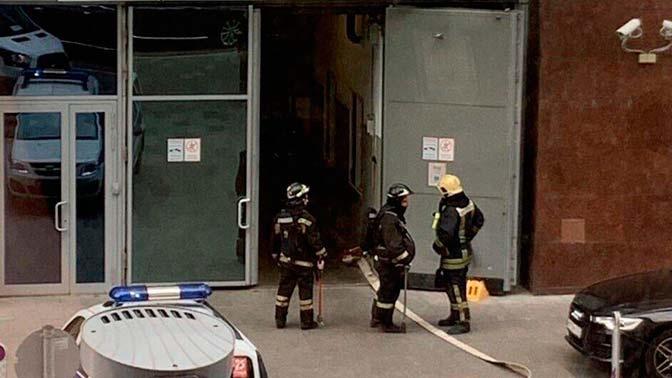 Баллон с газом взорвался в одном из ресторанов Москвы