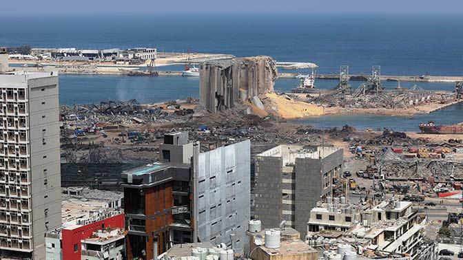 Названы три возможные причины мощного взрыва в Бейруте