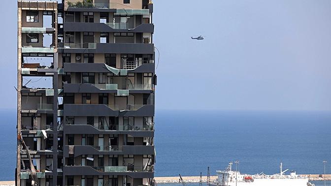 Число жертв при взрыве в Бейруте достигло 154 человек