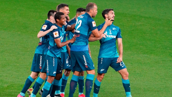 «Зенит» в пятый раз стал обладателем Суперкубка России, обыграв «Локомотив»