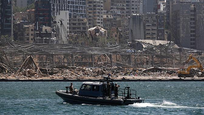 Взрыв в порту Бейрута произошел из-за коррупции, считает премьер Ливана