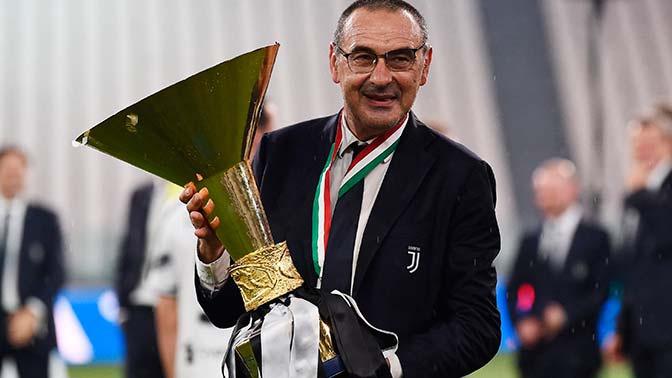 Маурицио Сарри покинул пост главного тренера «Ювентуса»