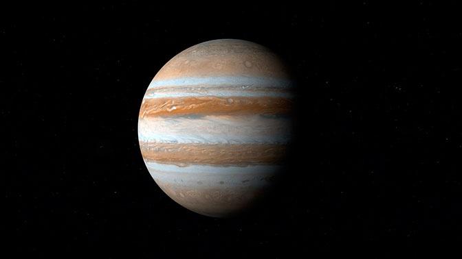 Астрономы нашли гигантский метеоритный кратер на спутнике Юпитера