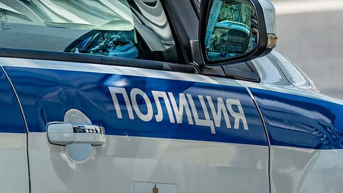 В Москве пьяный мужчина напал на полицейского