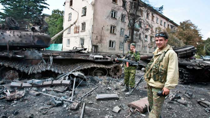 Медведев сравнил события 2008 года в Южной Осетии с объявлением войны