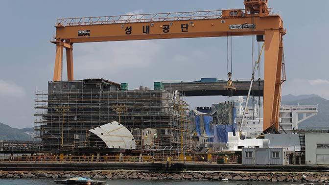 СМИ: Южная Корея намерена построить авианосец
