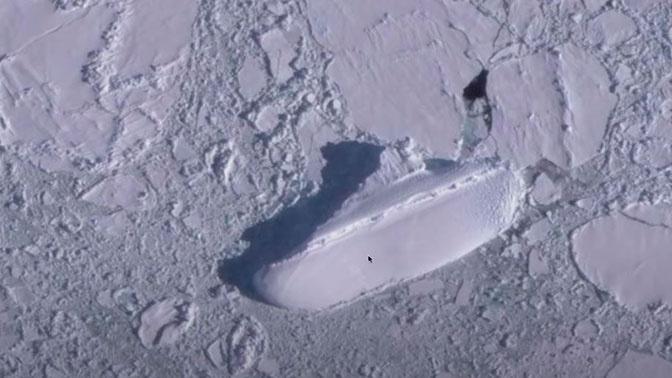 Ковчег или нацистский корабль: у берегов Антарктиды нашли таинственное «судно»
