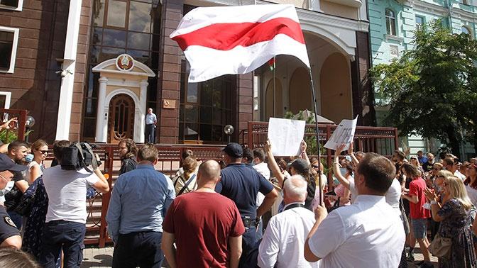 В МВД Белоруссии заявили, что ситуация в Минске находится под контролем