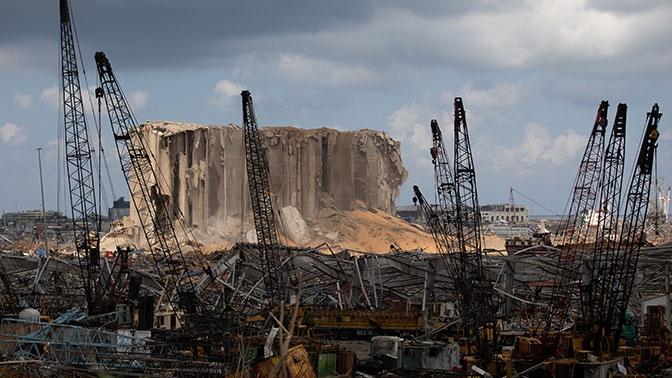 СМИ: в июле Ливан предупредили о наличии взрывоопасных грузов в порту Бейрута