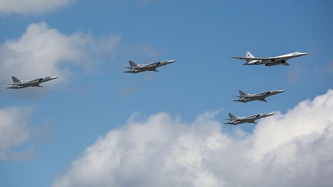 Учения с бомбардировщиками Ту-160, Ту-95МС и Ту-22М3 стартовали в Саратовской области