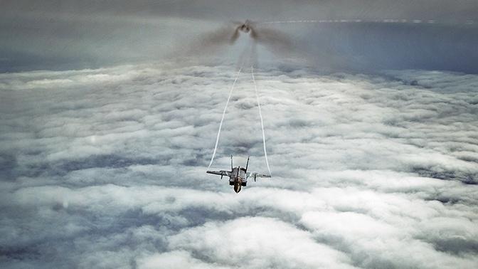 Истребители МиГ-31 перехватили американский беспилотник над Чукотским морем