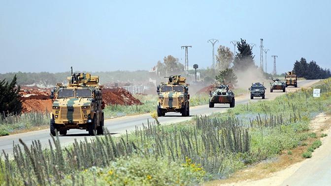 Очередное российско-турецкое патрулирование прошло в Сирии