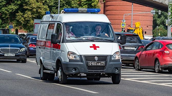 В Крыму пьяный водитель наехал на группу детей