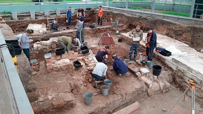 В Кремле раскопали предметы «политической элиты» XIV-XV веков