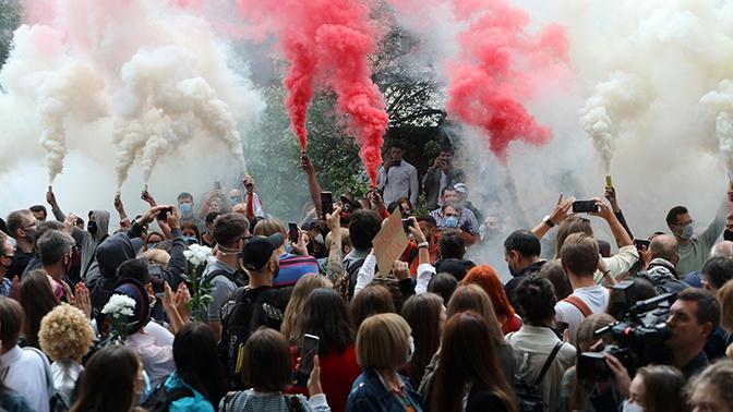 Лукашенко заявил, что заводилами протестов являются люди из-за рубежа
