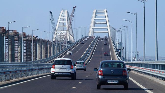 На Крымском мосту побит суточный рекорд трафика