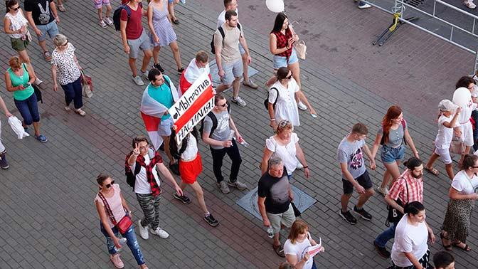 Лавров: Москву тревожат попытки иностранного вмешательства в ситуацию в Белоруссии
