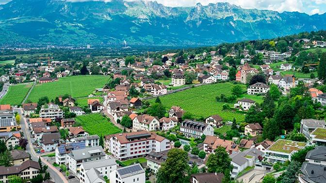 Лихтенштейн потребовал у Чехии часть территории