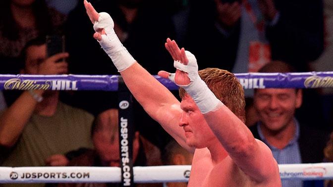 Поветкин получил титул временного чемпиона мира по версии WBC, победив Уайта