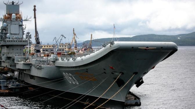ОСК назвала сумму восстановления «Адмирала Кузнецова» после пожара