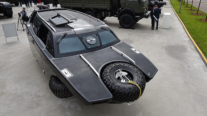 Уникальный «Дрозд»: что известно о новой амфибии, представленной на форуме «Армия-2020»