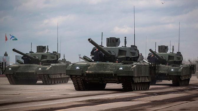National Interest перечислил инновационные характеристики танка Т-14 «Армата»