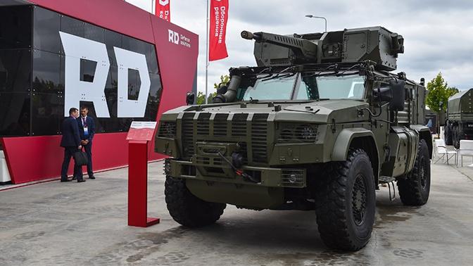 От «Тайфуна-ВДВ» до боевого модуля БМДУ: «Ремдизель» представил современную технику на форуме «Армия-2020»