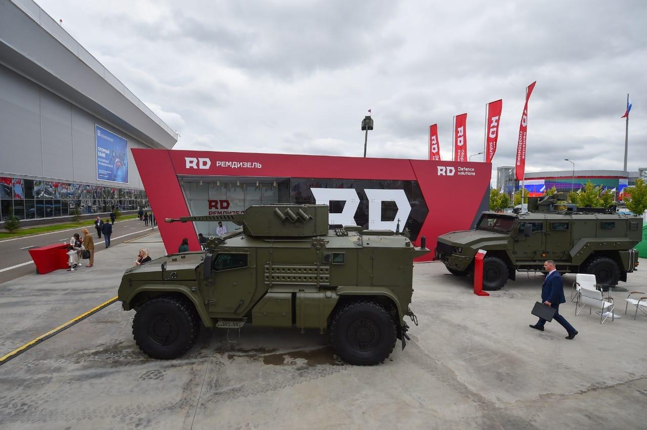 «Тайфун-ВДВ» оснащен боевым модулем с 30 мм пушкой производства ЦНИИ «Буревестник»