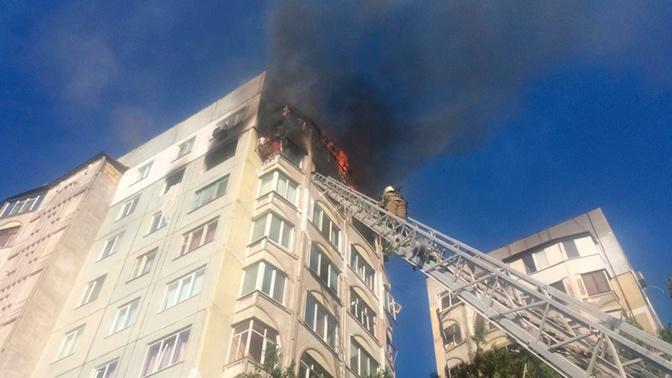 В Керчи из-за пожара в многоэтажке эвакуировали 115 человек
