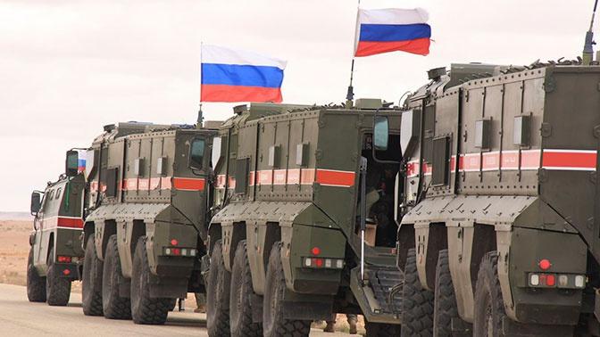 «Патруль принял все возможные меры»: в МО РФ прокомментировали инцидент с военными США в Сирии
