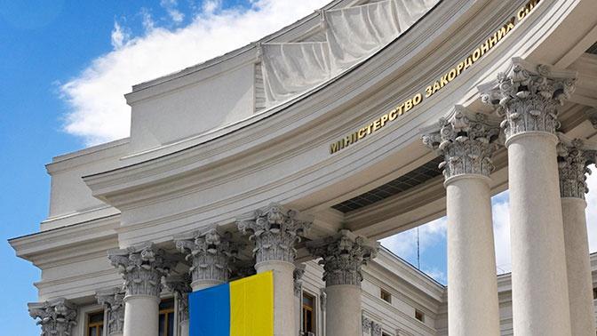 На Украине заявили о приостановке контактов с Белоруссией