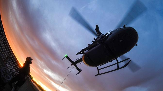 В Калифорнии разбился военный вертолет США