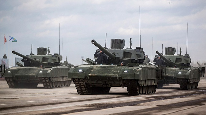 На базе «Арматы» могут создать боевую машину «Илья Муромец»