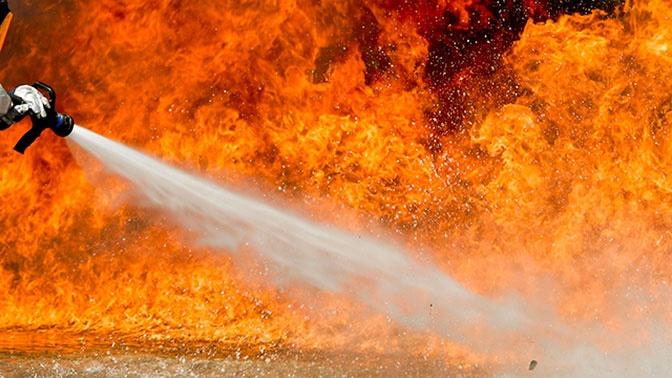 Семья пожарного погибла в горящем доме, пока он сам тушил лес за городом