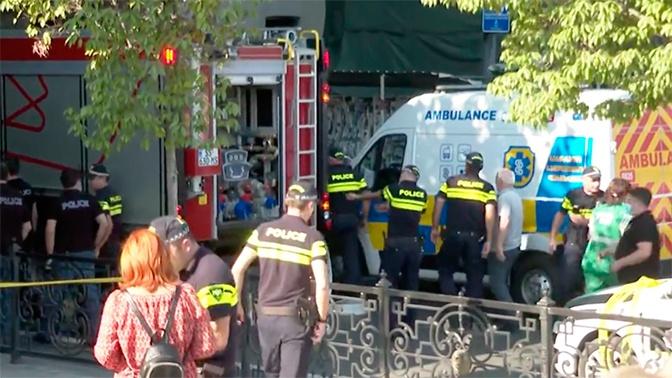В Тбилиси прогремел взрыв