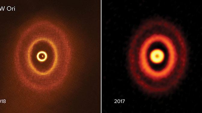 Астрономы впервые наблюдали зарождение планеты у тройной звезды