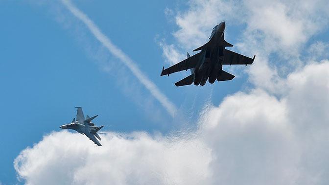 Разведку у российских границ за неделю вели 43 самолета