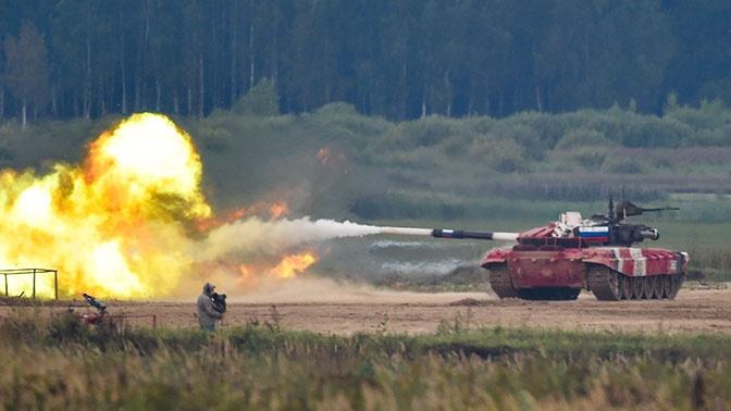 Сборная России стала победителем «Танкового биатлона-2020»