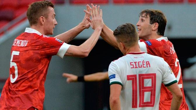 Сборная РФ обыграла команду Венгрии в матче Лиги Наций
