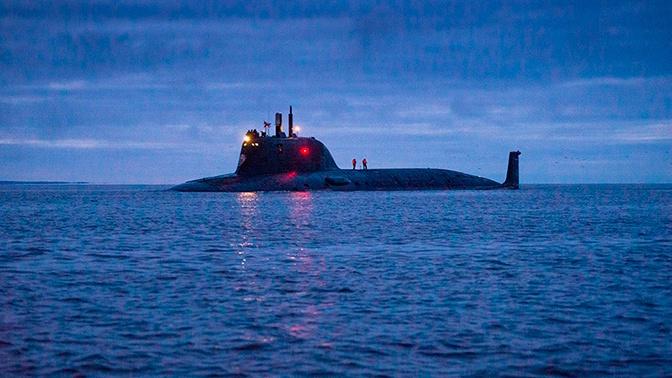 Атомная подлодка «Казань» провела испытания в Белом море